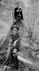 Elephant shot with a 30-06 BRNO - western Zambia 1976